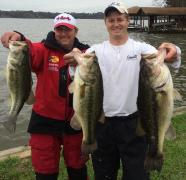 Danny and Blake - 3rd place - Sandlin/Cypress 03/2015