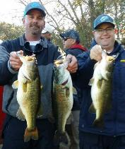 Eric and Nick with 1st place and big bass from Lake Welsh!!