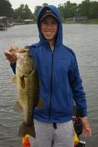 Garrett with a nice Lake Athens Bass