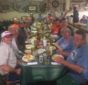 Good times at Vaughans Catfish House on Lake Bob Sandlin!!