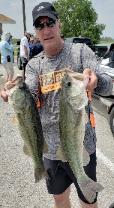 Rich Lewis with a couple of nice bass to take 2nd place
